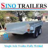 Fully Welded Box Trailer with Heavy Duty Chassis
