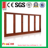 Wooden Color Anodizing Polished Aluminum Wooden Windows