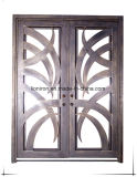 Hand Crafted American Decorative Iron Front Entry Doors
