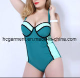 Big Size Swimming Wear for Lady, One Piece Swimming Suit