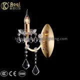 Hot Sale Golden Metal Crystal Wall Light