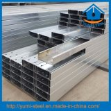 Galvanized Steel Profiled C Roof Purlins Metal Section Frame