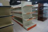 Perforated Back Panel Double Sided Supermarket Shelf