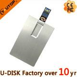 Metal Card USB3.0 Flash Drive for Creative Gift (YT-3101-03-3.0)
