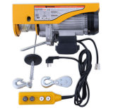 Single Phase Micro PA Wire Rope Mini Electric Hoist, with 110 V Motor and Remote Control for Garage Auto Shop (new)