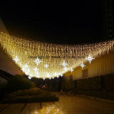 Waterproof LED Icicle Decorative Light Decoration with Star
