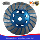 105mm Diamond Turbo Cup Wheel for Stone Grinding