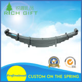Hot Rolled Carriage Truck Trailer Rear Flat Leaf Spring for Auto and Bus Assembly