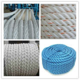 3/4/6/8/12/16/24/48 Braided Mooring Rope