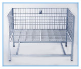 Metal Wire Fair Table for Supermarket