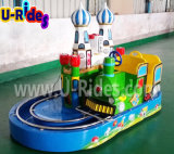 Moscow Amusement Kiddy Electric Train with CE
