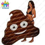 Inflatable Poop Pool Float Giant Emoji Inflatable Raft Poo Float