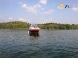 Hot Sale 7.3m 10-12 Person Half Cabin Ourboard Engine Boat for Sale