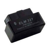 Mini Bluetooth Elm327 Obdii Detector Black Ca