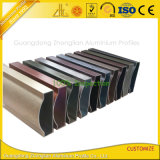 6000 Series Brushing Alu Profile for Sliding Door and Window