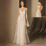 Lace Applique Elegant Wedding Dress