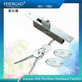 Hidden Door Handle Lock/Mortise Lock with 3 Keys No.: 1862