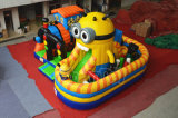 TV Cartoon Inflatable Bouncer Obstacle for Party (CHOB1106-1)