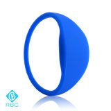 Durable Silicone RFID Tag 1k Wristbands RF Bracelet