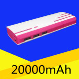 Colorful Ripple Design Mobile Power Bank 10000mAh with 3PCS USB