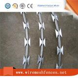 Electric Galvanized Cross Type Razor Wire for Prison Fence