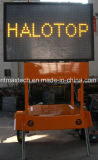 Trailer Mount Solar Powered Message Traffic Sign Solar Powered Maintenance Free