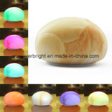 Stone Shape Rechargeable Touch Sensor LED Silicone Night Light
