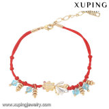 74500 Fashion Red Rope Belt Jewelry Hand-Made Goldfish Design Bracelet