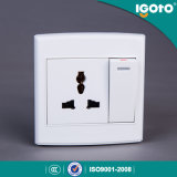 Igoto British Style D3062D/1 Multiple Electrical Wall Switch Socket