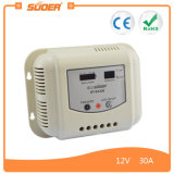 Suoer 30A 12V 24V Smart Solar Controller with Ce&RoHS (ST-G1230)