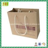 Printed Brown Kraft Paper Handbags