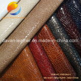 Competitive PU Leather for Bag with Embossed Surface