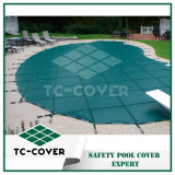Green Pool Mesh Safety Cover