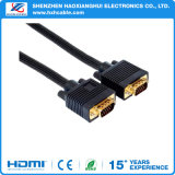 Gold-Plated HD15p M to M VGA Cable
