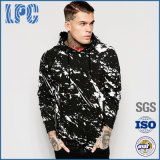 Casual Polyester Cotton Mens with Hood Fashion Snowboard Pullover Hoody