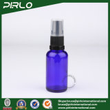 30ml Cobalt Glass Spray Bottles with Black Lotion Pump Sprayer