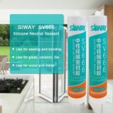 Antifungus Bathroom Acetic Silicone Sealant for Glass
