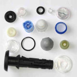 Custom Plastic Parts/Ring/Washer/Plastic Extrusion Parts