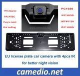 Night Vision European EU License Plate Frame Car Rear View Camera Cm-316b