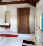 2015 Hot Selling Engineered Veneered Horizontal Flat Panel Door