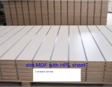 Slot MDF with HPL Sheet