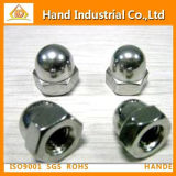 """5/8"""" 304 Stainless Steel Hex Domed Cap Nut"""