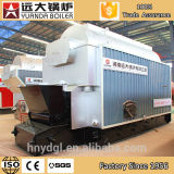 Fully Equipped Single Drum Horizontal Wood Chip Coal Boiler