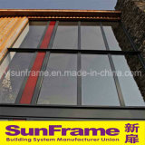 Aluminium Exposed Frame Glass Curtain Wall System