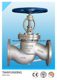 API Hand Wheel Flanged Bellow Stainless Steel Globe Valve