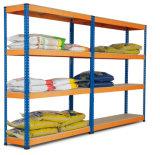 Rivet Rack, Boltless Rack, Light Duty Storage Rack