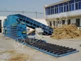 Horizontal Semi-Automatic Waste Paper Baler Straw Machine