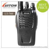 CE Approved VHF/UHF Handheld Radio Lt-760 Walkie Talkie