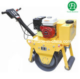 Single Drum Vibratory Mini Road Roller Compactor with Cheap Price (FYL-600)