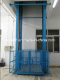 Factory Sales Guide Rail Freight Lift Elevator
